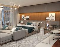 SFN Arquitetura - Suíte Master Casa B220 (1º proposta)