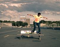Grinds and slides in skateboarding