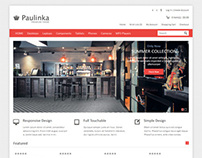 Paulinka, Premium Opencart  Responsive Minimalistic The