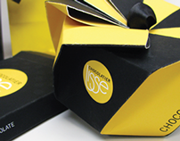 Lissa Chocolatier Logo and Packaging