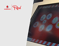 Interactive Desk Application / Vodafone Red