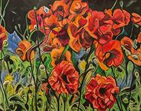 Poppies Grew on Ernie Lane