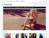 Megasell, Premium Opencart Elegant Responsive Theme