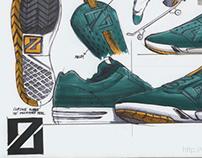 kicks sketch