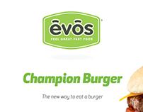 Evos Champion Burger