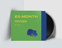 Ex-Month Mixtape Art