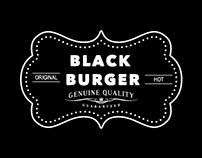 """Black Burger - """"Ass Kicking Burgers"""""""