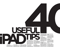 40 Useful iPad Tips Poster