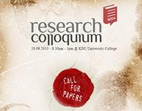 Research Colloquium