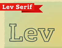 Lev Serif by TypeFaith*Fonts