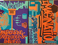 PITT Graffiti Canvases