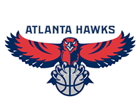 Atlanta Hawks Player Bio Headers/Web Design