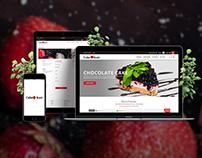 ecommerce website for cake store.