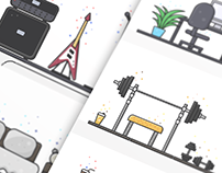 Lifestyle (Flat illustrations)