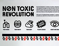 Non Toxic Revolution Installation