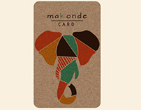Makonde Card-(Donor card)