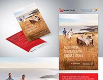Qantas Promo Postcard
