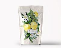 Aquarelle Tea Packaging