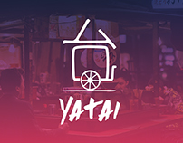 Yatai (Japanese Food Truck Identity, Web and App)