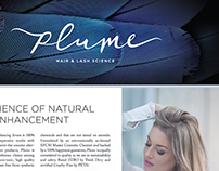 Plume Hair & Lash Science – Retail Display