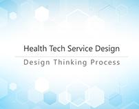 HealthTech Service: Design Thinking Process