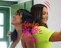 O SAMBA TEM PODER | Ju Moraes feat Ivete Sangalo