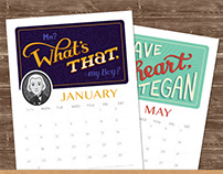 Dr. Who 2016 Calendar