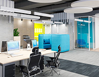 "Office design for ""Roland Berger"" in BC ""Gulliver"""