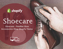 Shoecare – Parallax Shoe Accessories shop Shopify Theme
