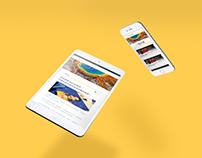 [介面UI] web design - Weblog