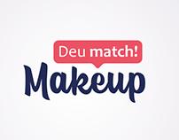 Deu match! Makeup - Logo