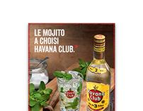 HAVANA CLUB . MOJITO