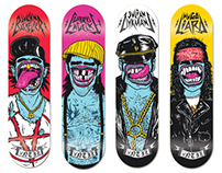 Antiz Skateboards (Big Mouths)