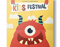 Kids Monster Festival Flyer