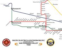 SFV Transit Then & Now