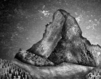 Matterhorn - Serigraphy