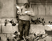 L'Homme Pigeon rip Pierre Pradeau