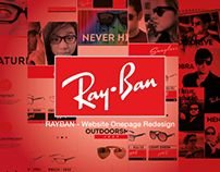 Ray Ban // New Look OnePage Website