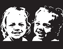 B&W Vector Portraits