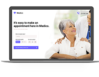 Medico - Book Patient Appointment Ui kit