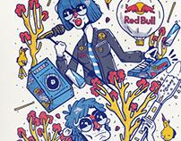 Afiche oficial Redbull para Estereo Picnic 2018