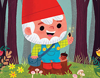 How to Grow Happiness: a Jerome the Gnome Story