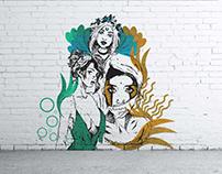 Women Empowerment Mural Design