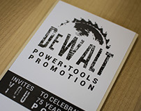 DeWalt Power Tools Invitation