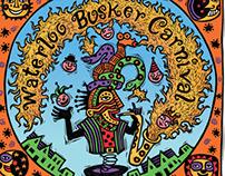 Annual Waterloo Busker Carnival Art