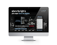 John Mayer Website Design