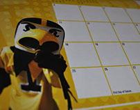 University of Iowa Spirit Squad Calendar