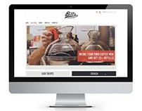 Responsive site // Bill's Donuts