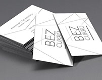 BEZ CUKRU  - business card / identification