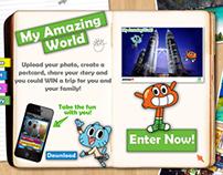Web Design - Jet Star, Cartoon Network